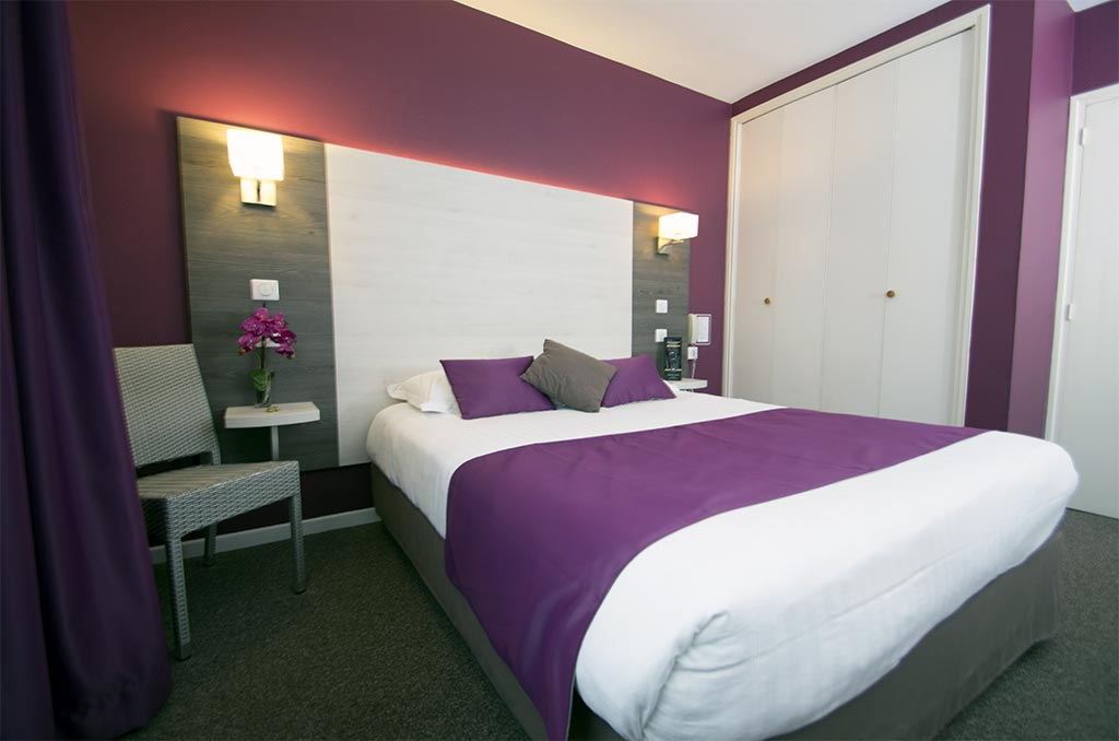 l'hotel le prado propose des chambres standard single ou double