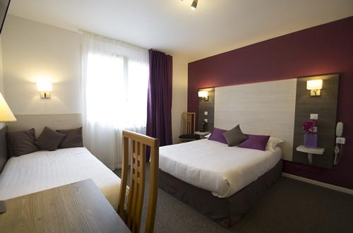 L'hôtel Le Prado Toulouse possède 23 chambres calmes et agréablesde 20m2.