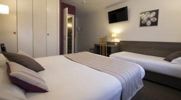 L'hôtel Le Prado Toulouse des chambres doubles calmes et agréables.