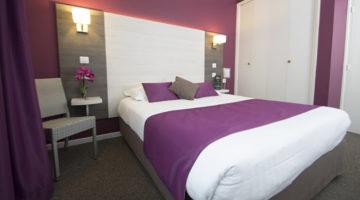 L'hôtel Le Prado Toulouse des chambres triples calmes et agréables.
